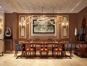 荆门餐厅新古典风格装修